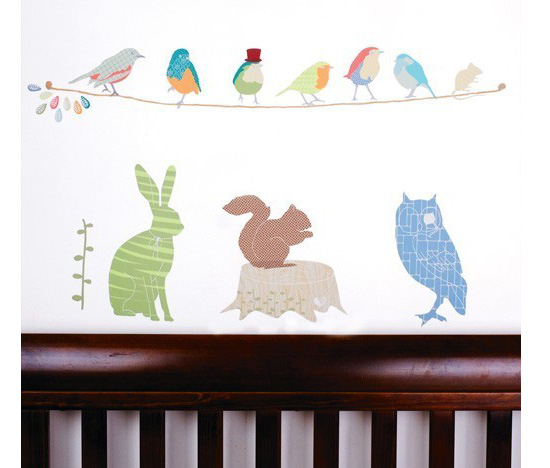 Forest Critters Wall Decals