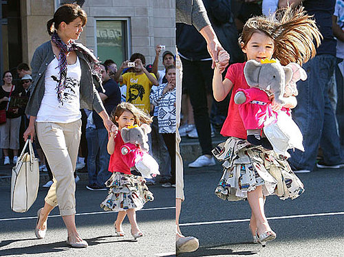 Suri Cruise Wears High Heels!