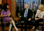 Video: Padma Lakshmi on Regis and Kelly Talking About Pregnancy