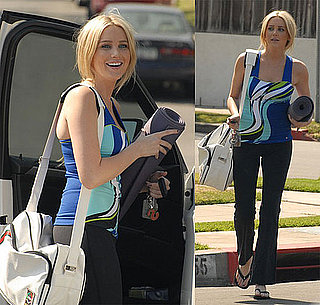 Get the Look: Stephanie Pratt's Yoga Wear