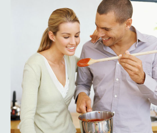 Cook Healthy Meals Together