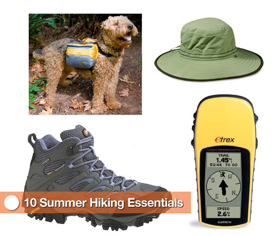 Take a Hike and Take These 10 Things