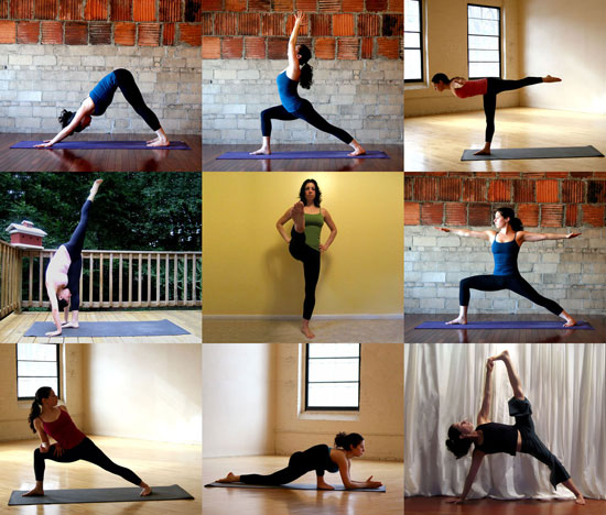 FitSugar Total Body Yoga Flow Sequence