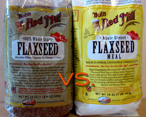 Flaxseed: Whole vs. Ground