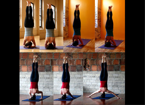 Strike a Yoga Pose: 7 Headstands