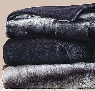 Go bunny-friendly with this Faux Fur Throw ($195).