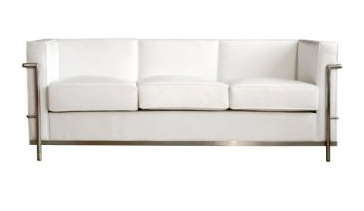Imitation is the sincerest form of flattery. The Le Corbusier Petite Sofa ($1,118) may be a knock-off of Le Corbusier's LC series, but you can't deny it's a darn good one.