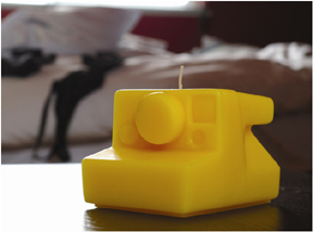 Love It or Hate It:  Urban Case Camera Candle