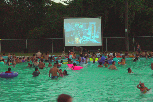 Go For a Swim, and a Movie