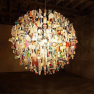 10 Chandeliers Made From Everyday Objects