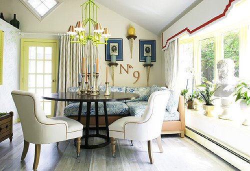Get the Look: John Loecke's Cozy Dining Room