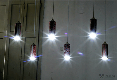 Dudecraft helps you make pendant lamps out of spray cans.