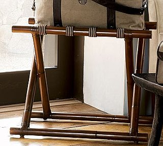 Steal of the Day: Pottery Barn Rattan Luggage Rack