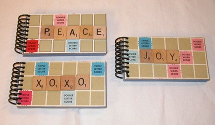 This Scrabble Mini Journal ($3.50) is perfect for grocery notes, or jotting down your two-letter word list.