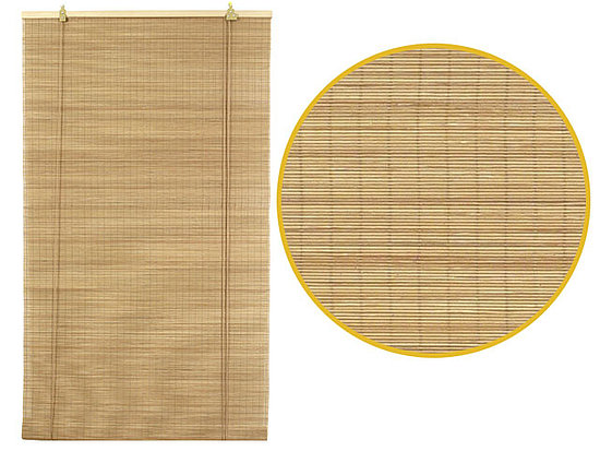 Pearl River's Fine Matchstick Bamboo Blinds ($15.50-49.50) are affordable and handsome, and they come in a range of sizes and colors.
