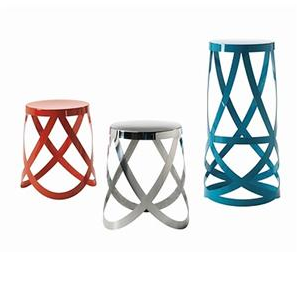 The stool is the Cappellini Ribbon Stool ($375-$846), and it's available in a range of colors and sizes.
