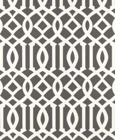 Kelly Wearstler's wildly popular Imperial Trellis is a classic pattern that can go anywhere and do anything.