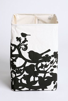 Everyone needs a cute little hamper, and the Shadow Bird Crunch Can Hamper (on sale for $19.99, was $28) provides just that. Made from cotton, it crushes to a tiny size for storage, and has woven canvas handles for ease of transport.