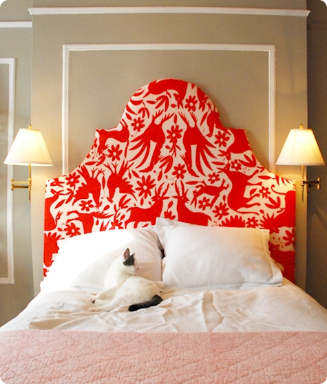 Design*Sponge shows you how to upholster a headboard.