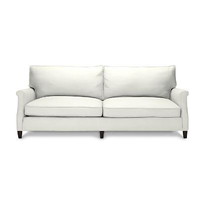 The Williams-Sonoma New London Sofa ($2550) is eco-friendly and classic. It's also available in over 120 custom fabrics.
