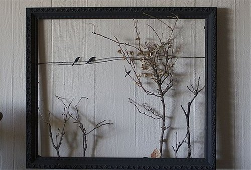 Fall Style: Crafting a Fall Landscape With an Old Frame