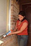 Caulk Around Exterior Windows and Doors