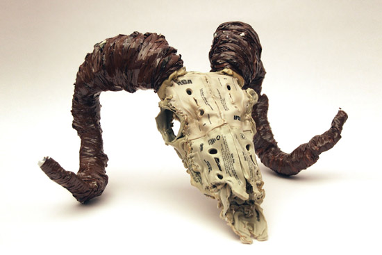 Guess What This Skull Is Made From?