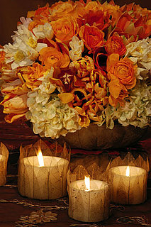 Fall Style: Dress Up Simple Votives