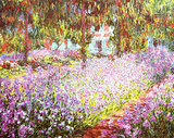 That's because it's a dead ringer for Monet's paintings. Add florals to your wall with this print of The Artist's Garden at Giverny ($19.99).
