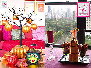 Fall Style: Chic Pink and Orange Halloween Décor