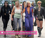 Photo Slideshow of Celebrities Backstage at Glastonbury 2009 Including Peaches Geldof, Sophie Dahl, Lily Allen, Pixie Geldof