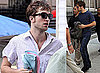 Photos Of Robert Pattinson&#039;s Wet Look In New York City For Remember Me