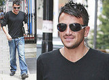 Photos Of Peter Andre And Video Clip Of His This Morning Interview With Fern and Phil Discussing His Divorce From Katie Price