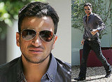 Photos of Peter Andre With New Hair Style as He Prepares For Release of His Interview About Katie With News of the World