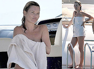 Photos Of Kate Moss Topless and Jamie Hince Shirtless On A Yacht In St Tropez