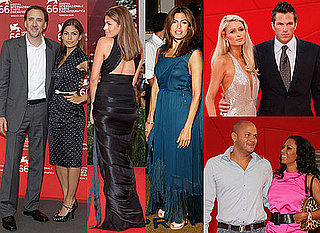 Photos of Eva Mendes, Nicolas Cage, Paris Hilton, Melanie Brown at Bad Lieutenant Premiere at 2009 Venice Film Festival