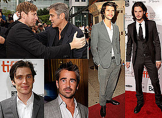 Photos of Colin Farrell, Ben Barnes, George Clooney, Ewan McGregor, Ben Whishaw, Cillian Murphy at Toronto Film Festival 2009