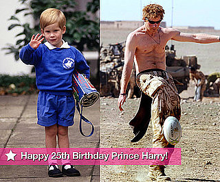 Extensive Photo Gallery of Prince Harry on His 25th Birthday Featuring Baby Pictures, Meeting Chelsy, Fighting on Front Line