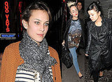 Photos Of Alexa Chung, Lily Allen, Alfie Allen and Jaime Winstone Out For Dinner At Quo Vadis. Jaime Arrested For Drink Driving