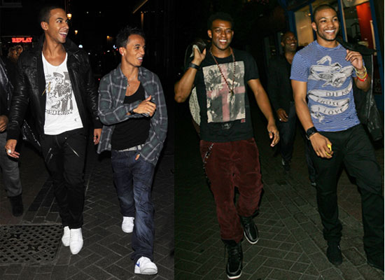 Photos of JLS