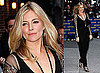 Photos of Sienna Miller at The Late Show With David Letterman in New York City