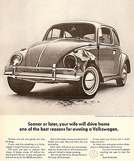 Flashback: Volkswagen Ad Makes Me Want to Run Over the Copywriter