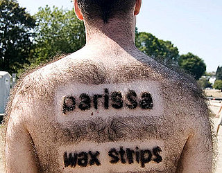 Parissa Wax Strips Uses Hairy Man to Advertise