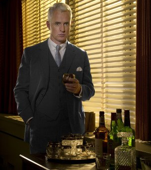 Roger Sterling on Mixing Business and Pleasure