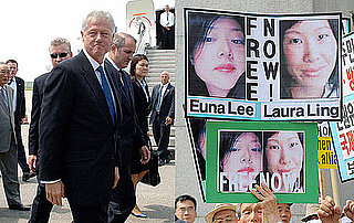 North Korea Pardons Journalists Laura Ling and Euna Lee