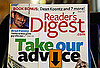 Photo of the Latest Issue of Reader's Digest, Telling Readers How to Find Money