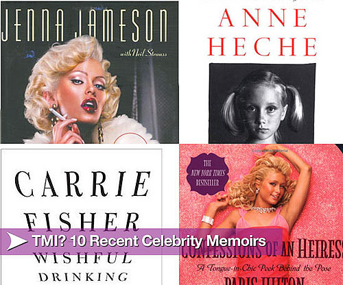 TMI? Top 10 Recent Celebrity Memoirs