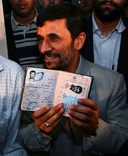 Front Page: Holocaust Denier Ahmadinejad Might Be Jewish