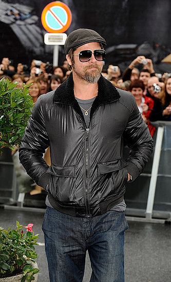 Brad Pitt at the 57th San Sebastian Film Festival
