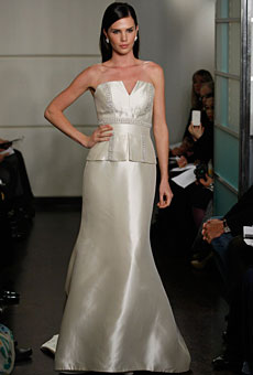 Badgley Mischka Bridal Fall 2010